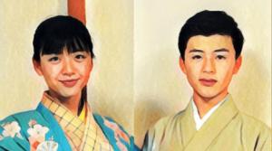 和泉元彌の息子(元聖)と娘(采明)の顔画像公開!子供の学校は?